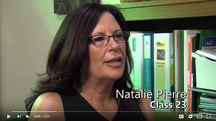 Natalie's path from job seeker to donor